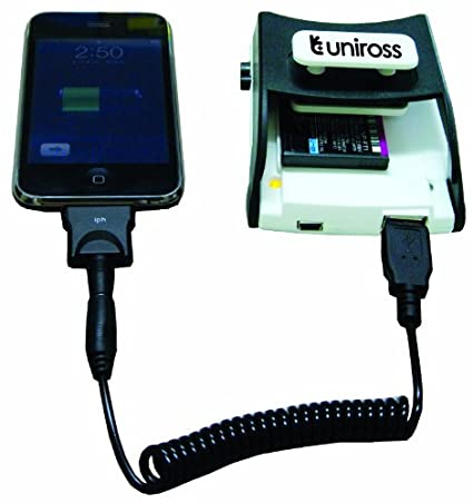 Uniross Universal Li-ion Battery Charger (With USB output)