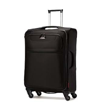 Samsonite Lift Spinner 25  Inch Expandable Wheeled Luggage, Black, One Size