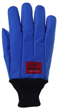 Tempshield Waterproof Cryo-Gloves WR Gloves, Wrist Length, Blue