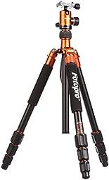 Fotopro C5i Camera Tripod - Orange Color