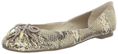 Bandolino Women's Itslove Flat,Gold Multi Leather,6 M US
