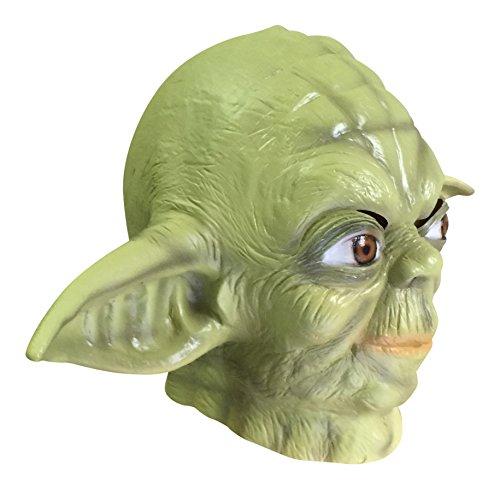 [Star Wars Yoda Mask - Latex Mask Adult Yoda Costume] (Yoda Costumes For Adults)