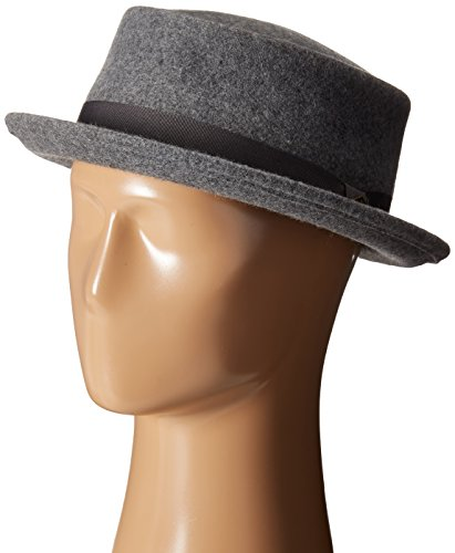 Goorin Bros. Men's Mad Dog Porkpie, Grey, Medium (Men Pork Pie Hat compare prices)