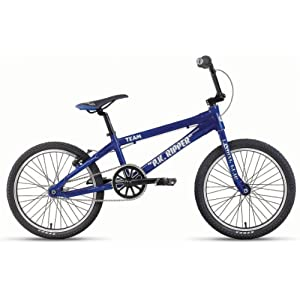 SE PK Ripper Team Race BMX Bike Metallic Blue 20