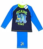 Boys Official Pixar Monsters Inc Universtiy Scare Time Top & Trousers Pyjamas Set