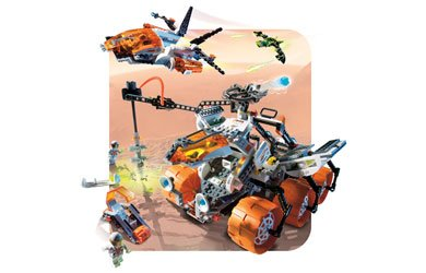 Lego Mars Mission Set #7699 MT-101 Armored Drilling Unit Amazon.com
