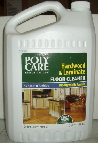 PolyCare, Poly Care 1 Gallon Ready to Use Hardwood/Laminate Cleaner
