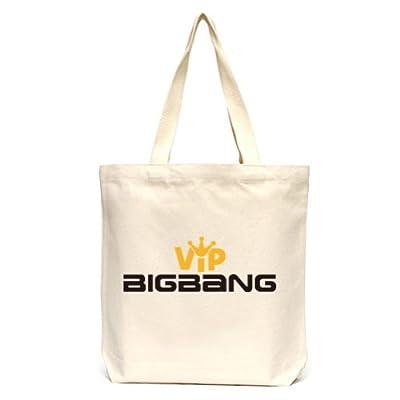 Okstar Bigbang VIP Bag Cotton Canvas Ecofriendly Tote Bag Fans' Support ECO BAG 024