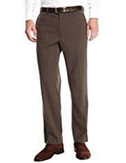Sartorial Luxury Winter Weight Flat Front Twill Trousers