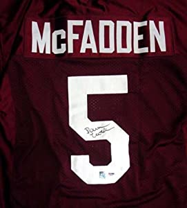 Darren McFadden Autographed University of Arkansas Jersey PSA DNA