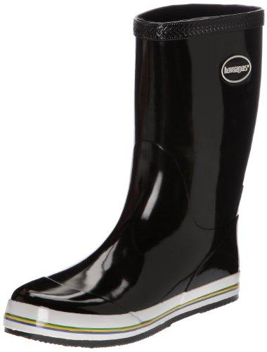 Havaianas Aqua Rain Boots, Stivali di gomma Donna, Black, 37 EU