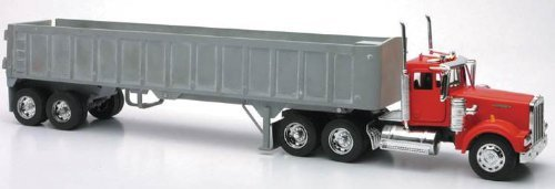 New Ray Die-Cast Truck Replica - Kenworth W900 Frameless Dump Truck, 1:32 Scale, Model# 13733 (1 32 Die Cast Trucks And Trailers compare prices)