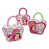Pearl Handle Laying Pretty Strawberry Shortcake Tin Box - Strawberry Shortcake Purse