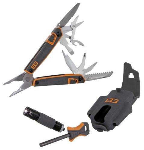 Gerber Bear Grylls Survival Tool Pack Multi-Tool, Fire Starter  &  Flashlight
