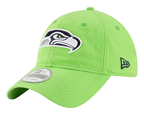 NFL Seattle Seahawks Core Shore Secondary 9TWENTY Adjustable Cap, One Size, Green (Custom Seahawks Hat compare prices)