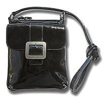 Boconi Addison xBody Bag (Black Patent)