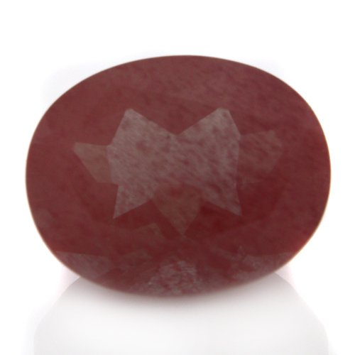Natural Africa Red Andesine Loose Gemstone Oval Cut 10*8mm 2.80cts VS Grade