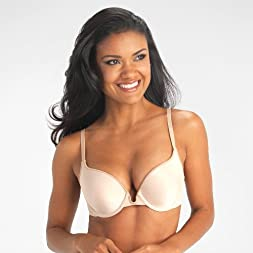 Silken Heather Push-Up Underwire Bra