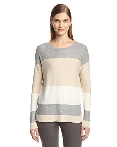 Cullen Women's Boxy Colorblock Sweater