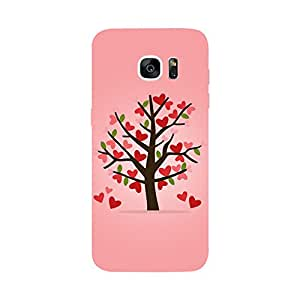 Skintice Designer Back Cover with direct 3D sublimation printing for Samsung Galaxy S7 Edge