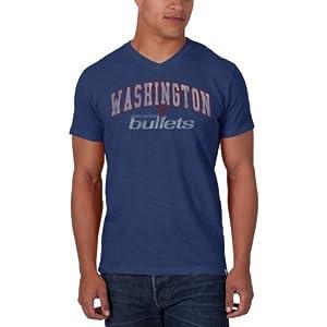 NBA Washington Wizards JV Scrum Tee, Bleacher Blue by