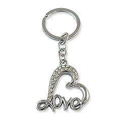 Sarah Silver Key Chain