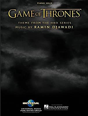 Game of Thrones - Piano - Book