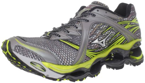 Mizuno Mizuno Men's Wave Prophecy Running Shoe,Dark Palladium/Silver/Lichen,11.5 D US