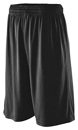 Buy Augusta Sportswear Extra Long Tricot Mesh Short by Augusta