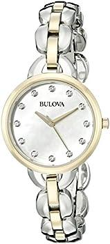 Bulova 98L208 Two-tone Women's Watch