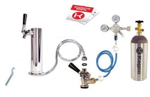Kegco Standard Tower Kegerator Conversion Kit with 5 lb. Co2 Tank - STCK-5T