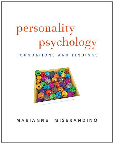 Personality Psychology: Foundations and Findings