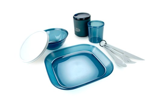 GSI Outdoors Infinity 1 Person Tableset (Blue)