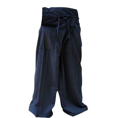 Pescatore tailandese pantaloni pantaloni Yoga formato libero Plus Size cotone