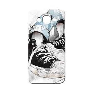 BLUEDIO Designer 3D Printed Back case cover for Samsung Galaxy E7 - G1667