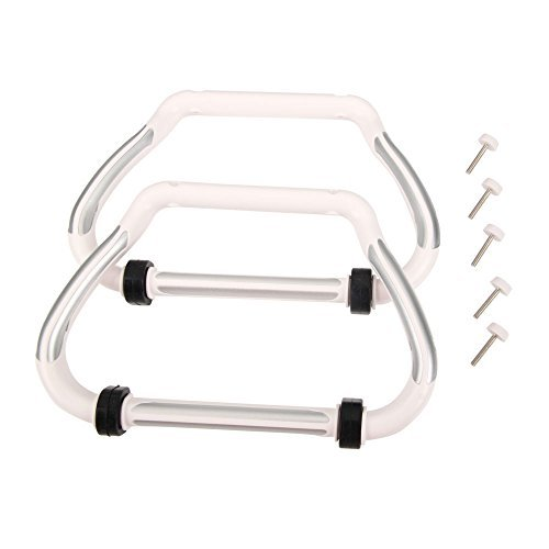 2pcs Cheerson CX-20-019 Landing Gear Set Spare Part for Cheerson CX-20 RC Quadcopter White - 1