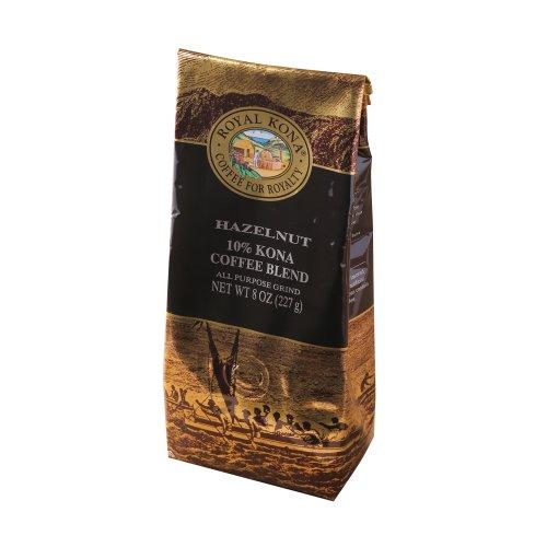 ロイヤルコナコーヒー ヘーゼルナッツ 8oz(227g)