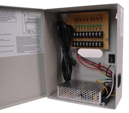 Cctv 9-Camera 12Vdc 10A Power Supply