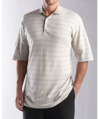 Cutter & Buck Big & Tall Vista Stripe Pique Polo