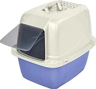 Van Ness CP6 Enclosed Cat Pan/Litter Box, Large, Colors may vary from Van Ness