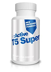 Re:Active T5 Super Strength Slimming Pills - New Formula - 60 Capsules