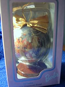 Holiday Barbie 1997 Decoupage Ornament