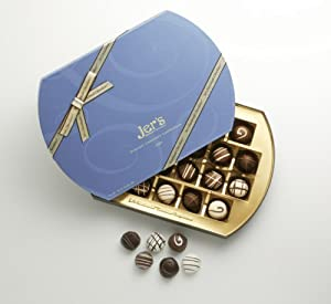 Jer's Chocolates Signature One Pound Blue Box (22 pieces)