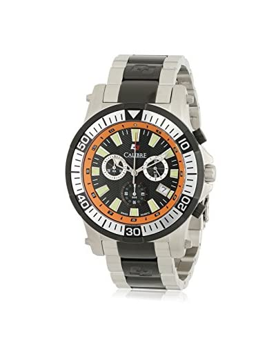 Calibre Men's Hawk Chrono Black Stainless Steel Watch