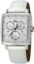 Bossart Watch Co. Square-Glam P-1001-IPB Wristwatch for Her With crystals