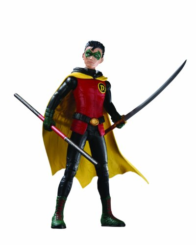 DC Direct Batman Incorporated: Damian as Robin Action Figure
