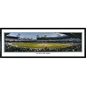 Detroit Tigers Last Pitch at Tiger Stadium -Tigers vs. Royals Panoramic Standard... by Everlasting Images