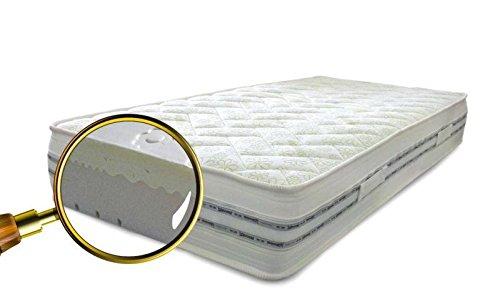 Matelas Memory Water Foam simple h 22Traitement à la comomilla 90x 190, non déhoussable