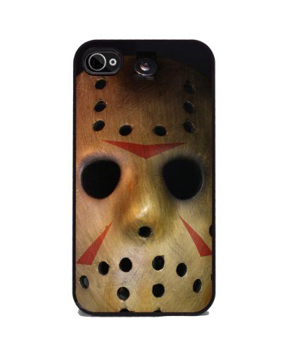 Halloween Horror Movie Hockey Mask - iPhone 4 or 4s Cover