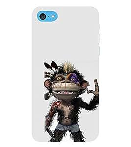EPICCASE Monkey Rap Mobile Back Case Cover For Apple iPod Touch 6 (Designer Case)
